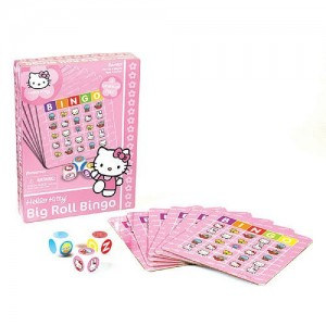 Hello Kitty Big Roll Pink Bingo Game