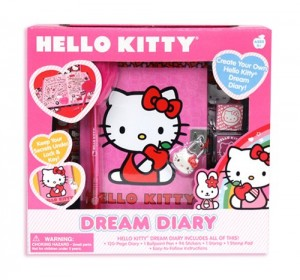 Pink Hello Kitty Dream Diary Kit