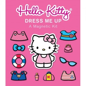 Pink Hello Kitty Dress Me Up: A Magnetic Kit