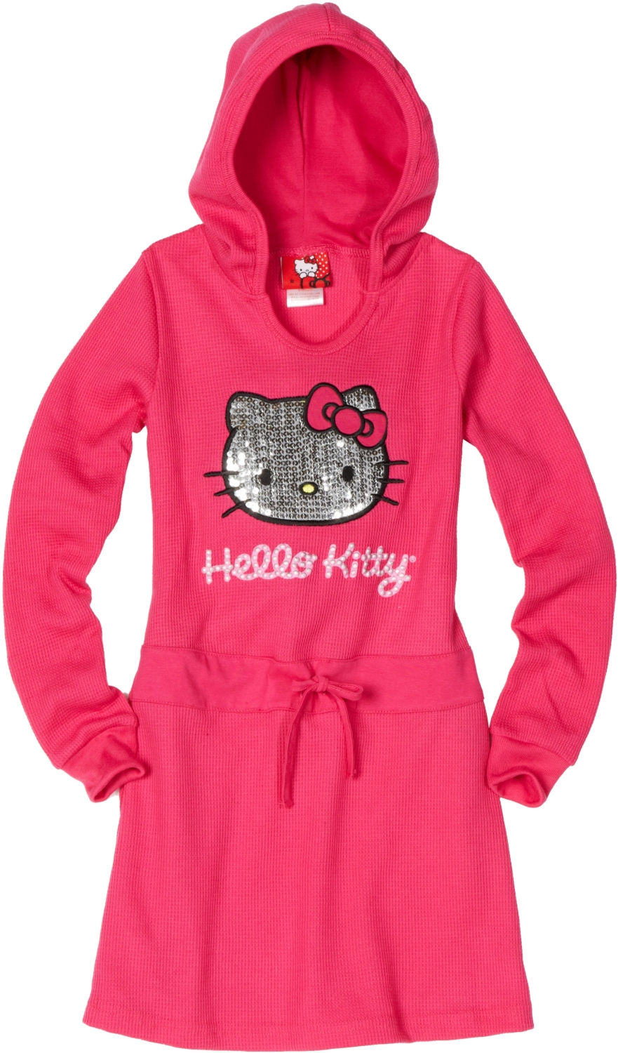Pink Hello Kitty Girls Thermal Dress