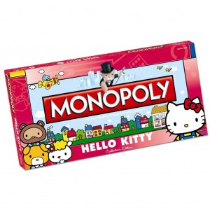 Pink Hello Kitty Monopoly