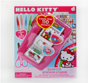 Pink Hello Kitty Sticker Machine