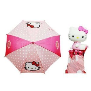 Pink Sanrio Hello Kitty Umbrella