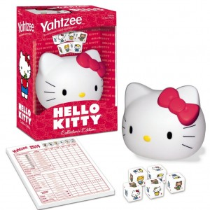 Pink Yahtzee Hello Kitty