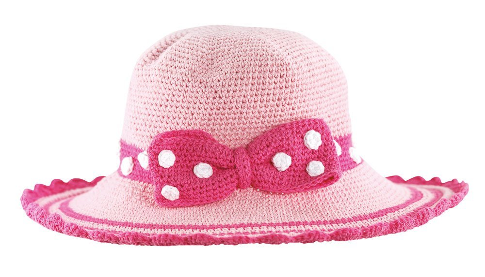 San Diego Hat Company Pink Bow Hat