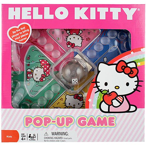 Sanrio Hello Kitty Pink Pop Up Board Game