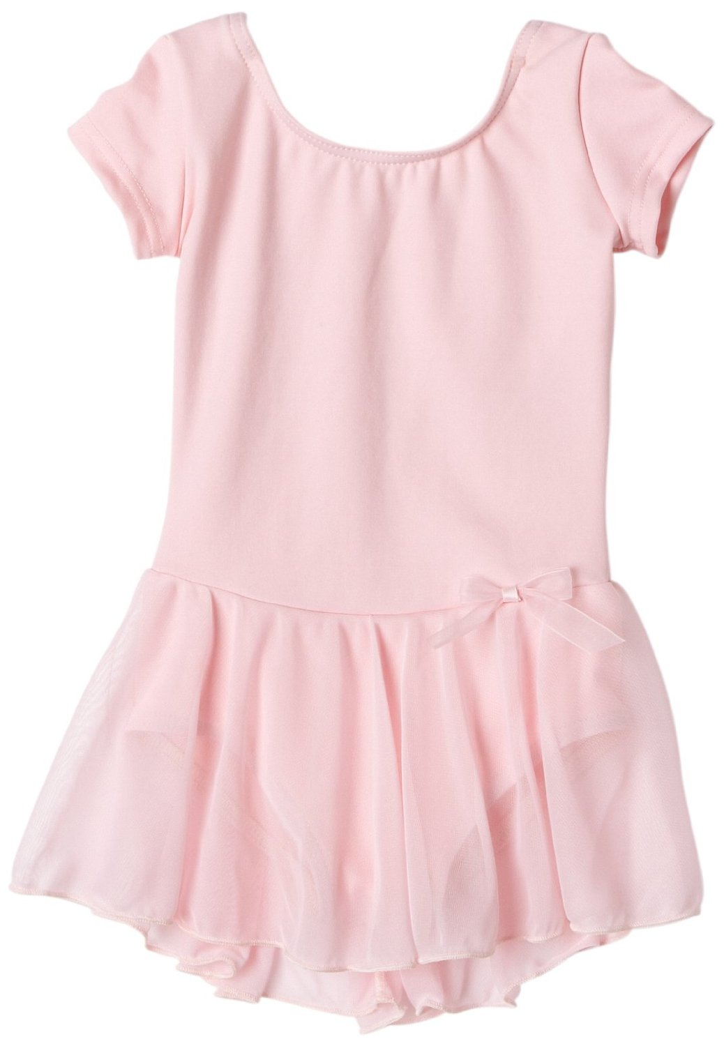 pink capezio girls nylon dress